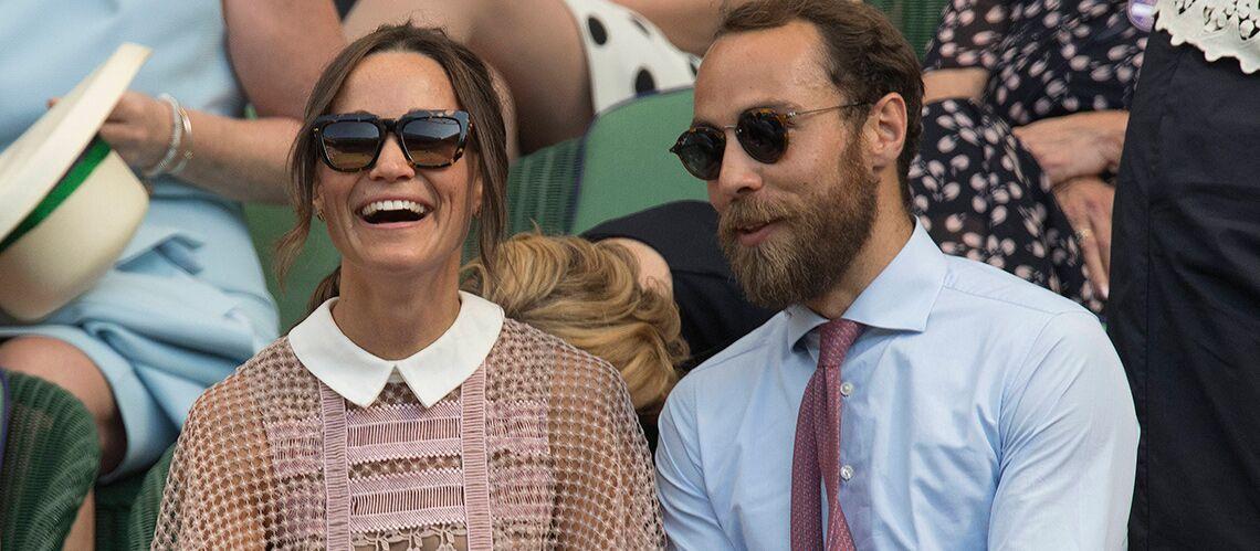 Pippa Middleton à Wimbledon, pour la première fois sans son époux