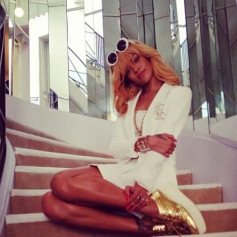 Photos – Rihanna dans l'antre de Coco Chanel