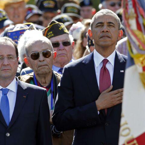Barack Obama et François Hollande, les clichés de la commémoration