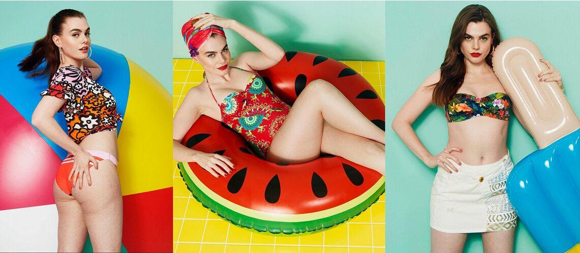 PHOTOS – Desigual: une campagne de maillots de bain sans retouche