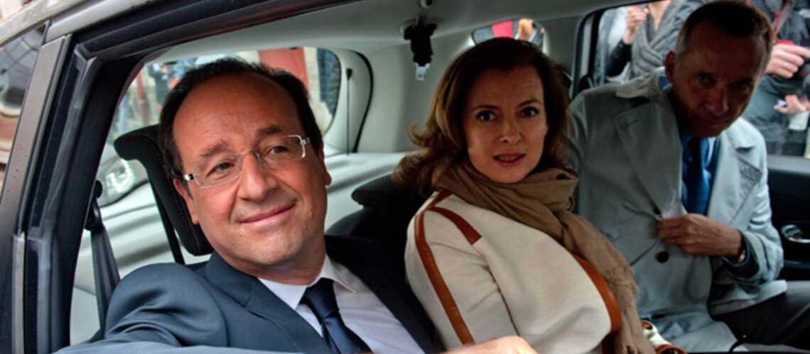 François Hollande et Valérie Trierweiler, vacances à Brégançon