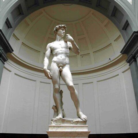 Le David de Michel-Ange, colosse aux pieds d'argile