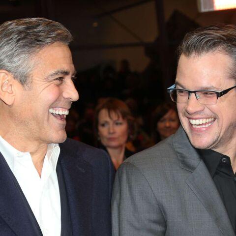 Matt Damon «très heureux» des fiançailles de George Clooney