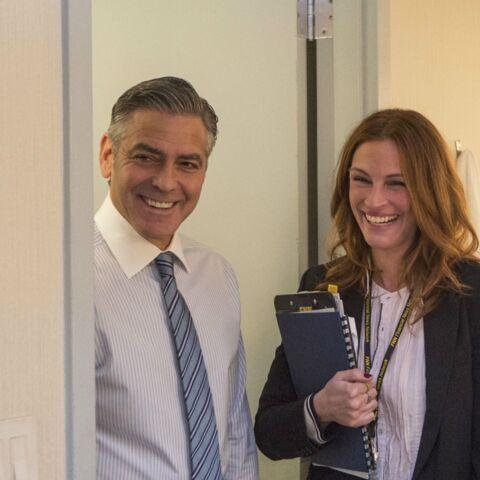 George Clooney, Julia Roberts, en voiture avec Gwen Stefani