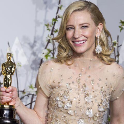 Cate Blanchett: son Oscar dans la peau?