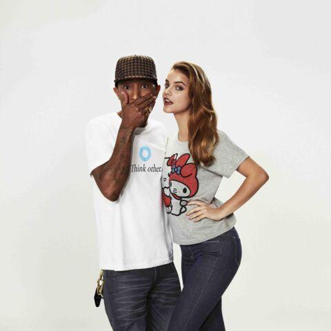 Pharrell Williams: une ligne en collaboration avec Uniqlo