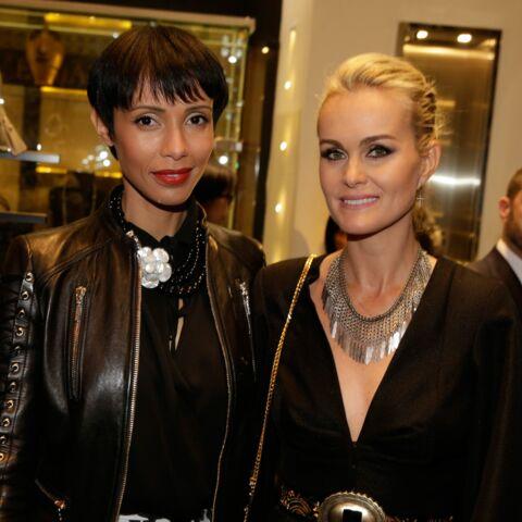Gala By Night: Laeticia Hallyday et Sonia Rolland complices chez Armani