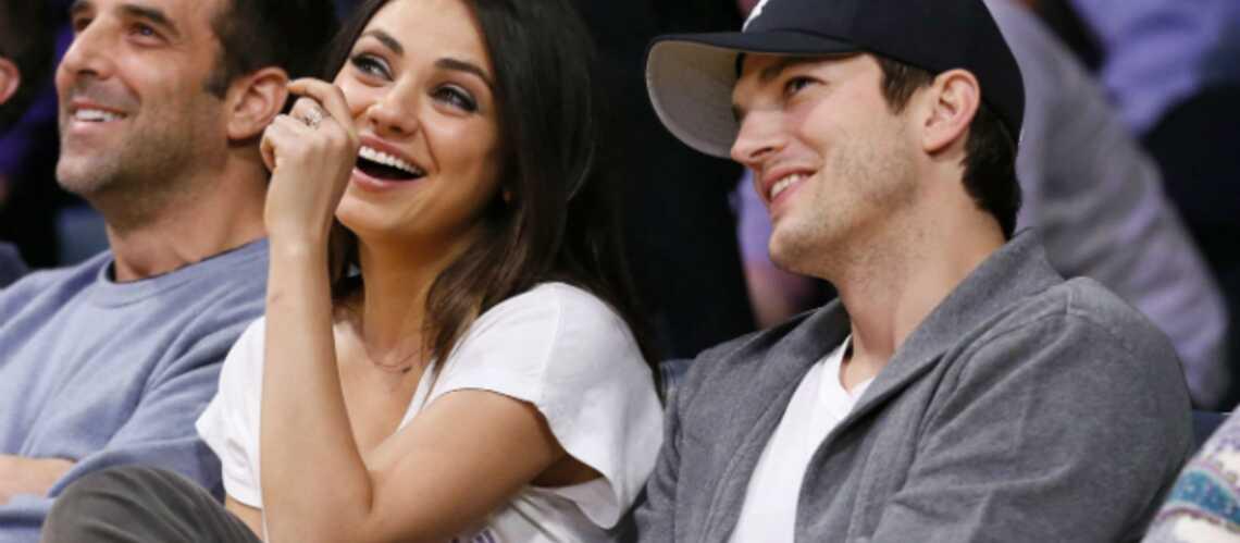 Ashton Kutcher va demander la main de Mila Kunis