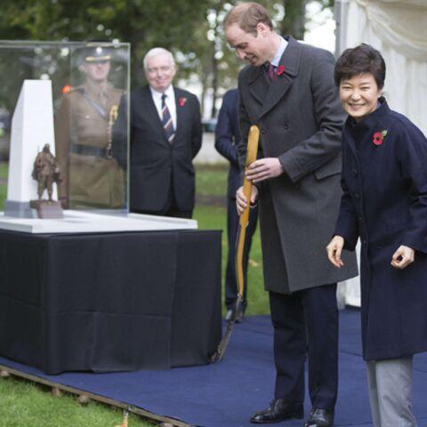 Le prince William a reçu la présidente de Corée