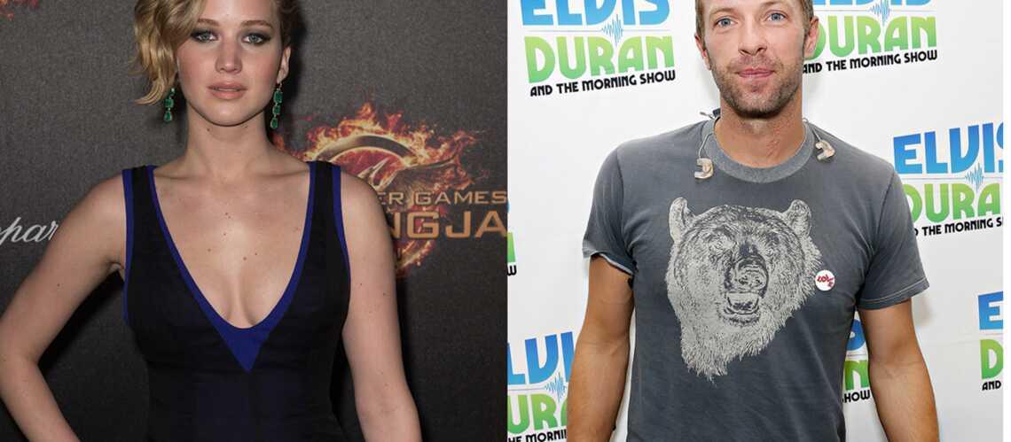 Jennifer Lawrence et Chris Martin, réunis pour Hunger Games?