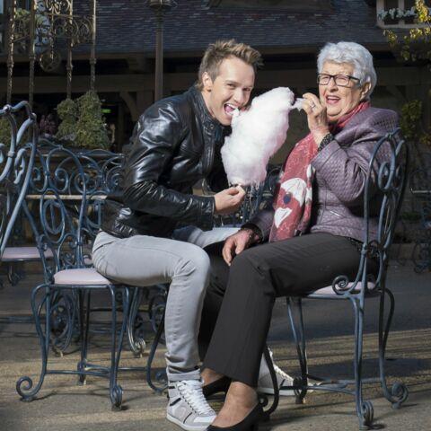 Cyril Féraud: la femme de sa vie, c'est son adorable mamie