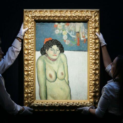 La Gommeuse de Picasso vendue 67,45 millions de dollars