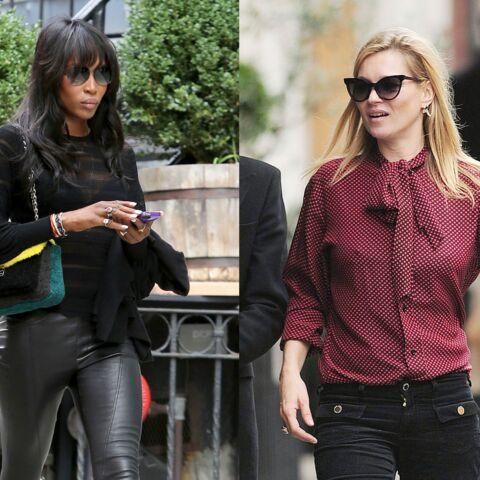 Naomi Campbell et Kate Moss décryptent la télé anglaise