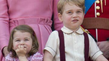 """""""C'est moi le roi"""": George et Charlotte d'Angleterre se disputent déjà la couronne"""
