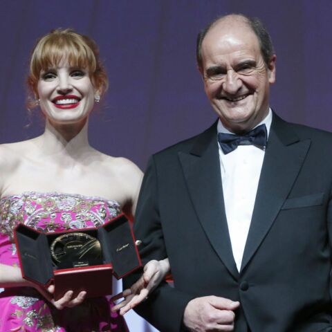 Pierre Lescure: son hommage à Jessica Chastain