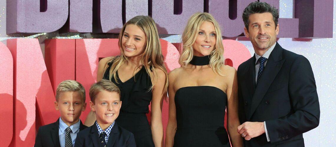 PHOTO – Trop chou… La fille de Milla Jovovich pose avec les enfants de Patrick Dempsey