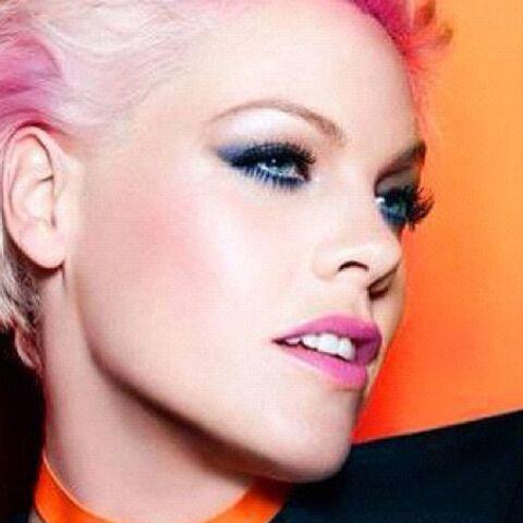 Pink, make-up muse