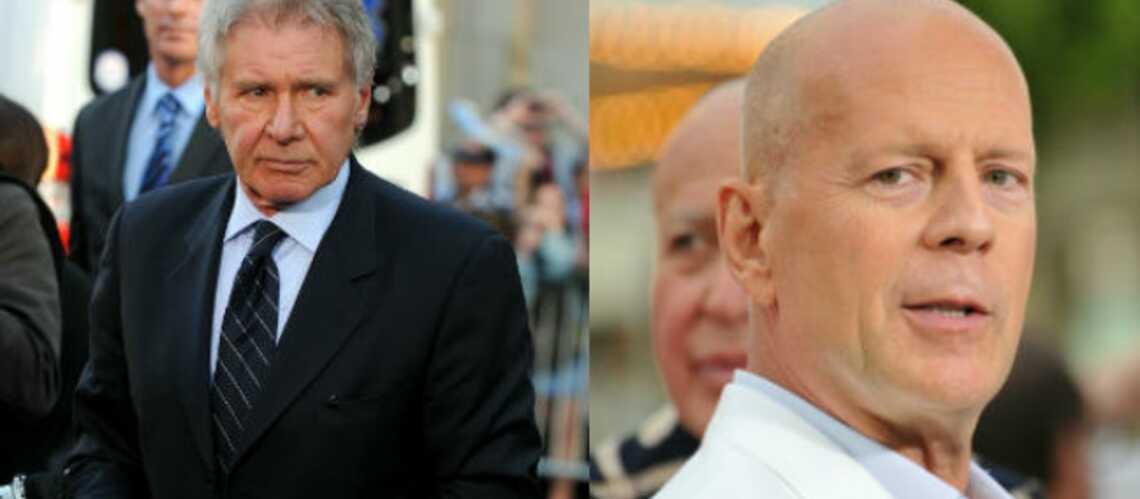 Expendables 3: Harrison Ford éjecte Bruce Willis du casting