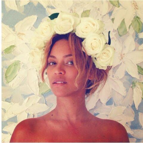 Coiffure: la couronne de fleurs de Beyoncé