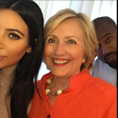 Kim Kardashian et Hillary Clinton, rencontre au sommet