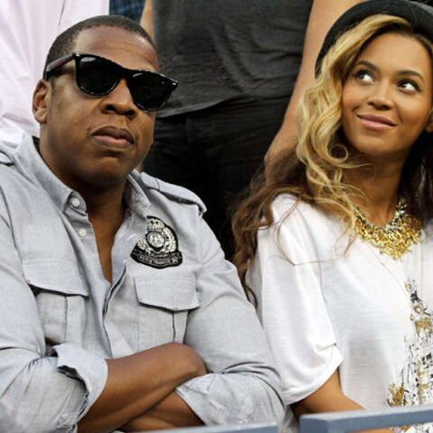 VIDEO : la séance photo de Jay Z et Beyonce avec un immense tattoo sur le ventre !