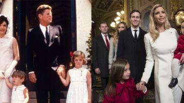 PHOTOS – Comme Jackie Kennedy, Ivanka Trump accorde la tenue de ses enfants à la sienne