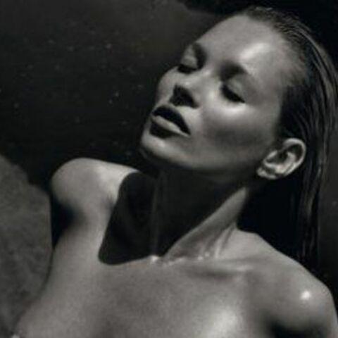 Kate Moss nue pour Pirelli