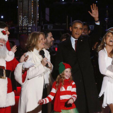 Pour Noël, Mariah Carey dans les petits souliers d'Obama
