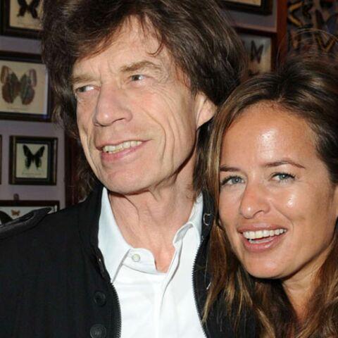 Mick Jagger, beau-papa comblé