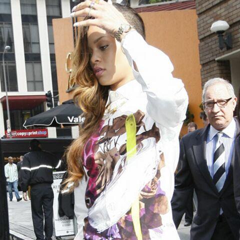 Rihanna soutient Chris Brown au tribunal