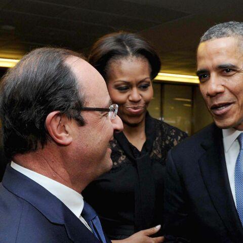 François Hollande, président célibataire au pays d'Obama