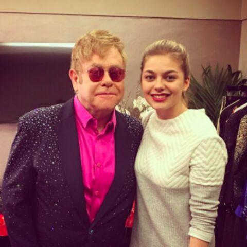 Elton John sous le charme de Louane