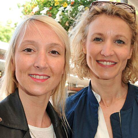 """PHOTO – Audrey et Alexandra Lamy en plein """"tournage"""": Seront-elles bientôt réunies à la télévision?"""