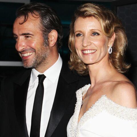 Alexandra Lamy et Jean Dujardin, imposés et heureux