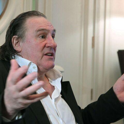 Gérard Depardieu victime d'un accident de voiture