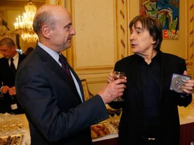Serge Lama reçu à la mairie de Bordeaux