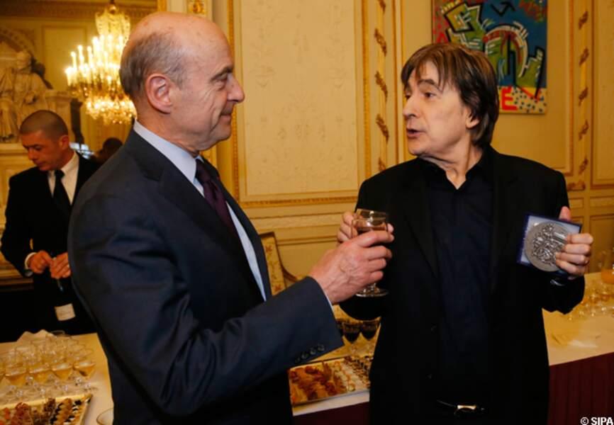 Sege Lama reçu par Alain Juppé, maire de Bordeaux