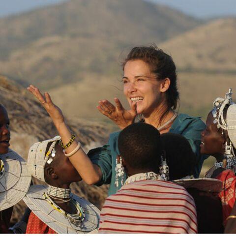Mélissa Theuriau à la rencontre des Masaï