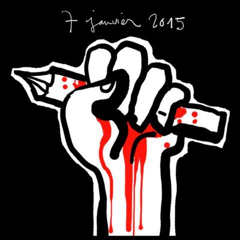 Diaporama – Hommage en dessins aux morts de Charlie Hebdo