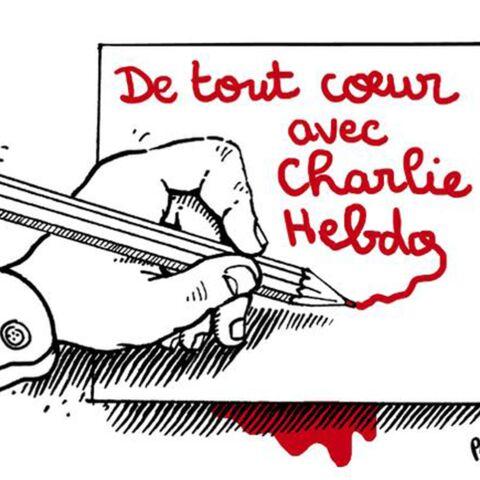 Barack Obama, David Cameron, Plantu… «Ils sont Charlie Hebdo»