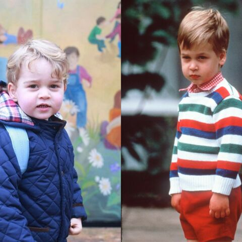 Photos – Il y a trente ans: la rentrée du prince William