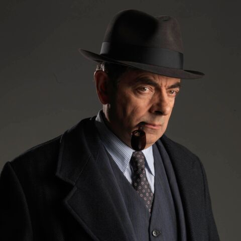 Photo – Mr Bean sous les traits du commissaire Maigret