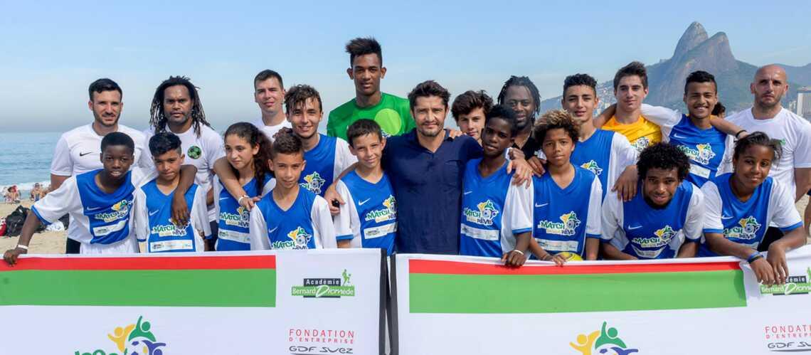 Lizarazu, Karembeu, Diomède gagnent le match de la générosité à Rio