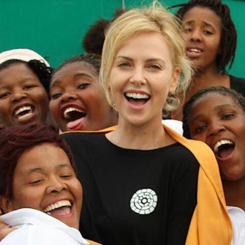Charlize Theron et Toms engagés pour l'Afrique