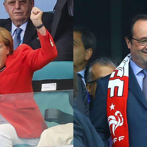 François Hollande/Angela Merkel: qui est le meilleur supporter?