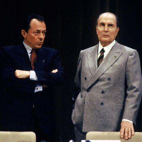 Michel Rocard et François Mitterrand: l'histoire d'une photo