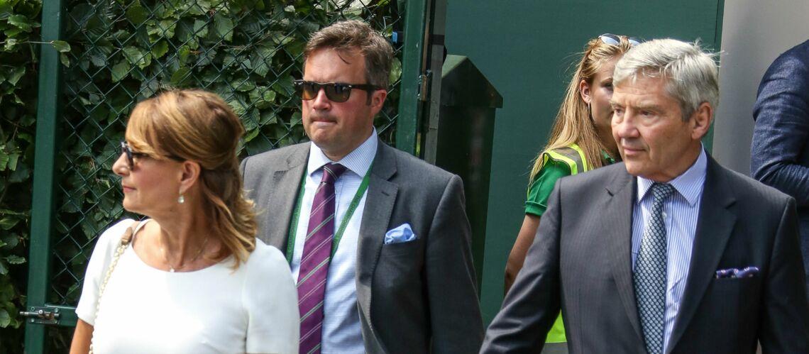 PHOTOS – Carole Middleton et son mari à Wimbledon: comme Kate et Pippa ils sont aux premières loges