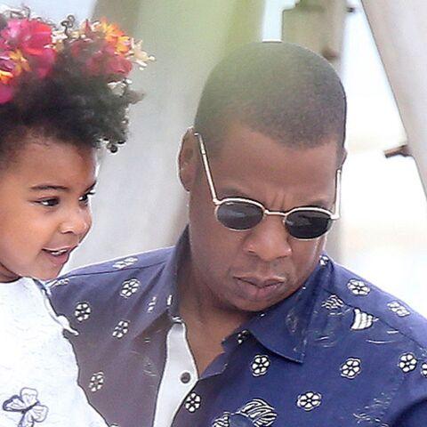 Craquant… Blue Ivy rappe sur le morceau de son papa Jay-Z