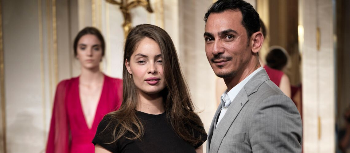 PHOTOS – Marie-Ange Casta: les cheveux lâchés, sublime et pulpeuse au défilé Rami Al Ali