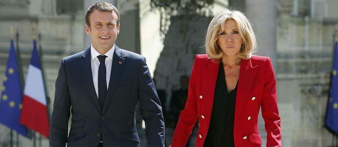 PHOTOS – Brigitte Macron accro à sa veste militaire «Vous me semblez bien belle»